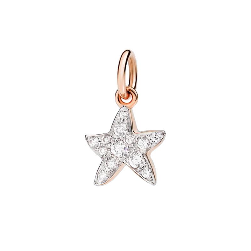 gioielliDonnaCharm Donna Dodo Stella marina diamante