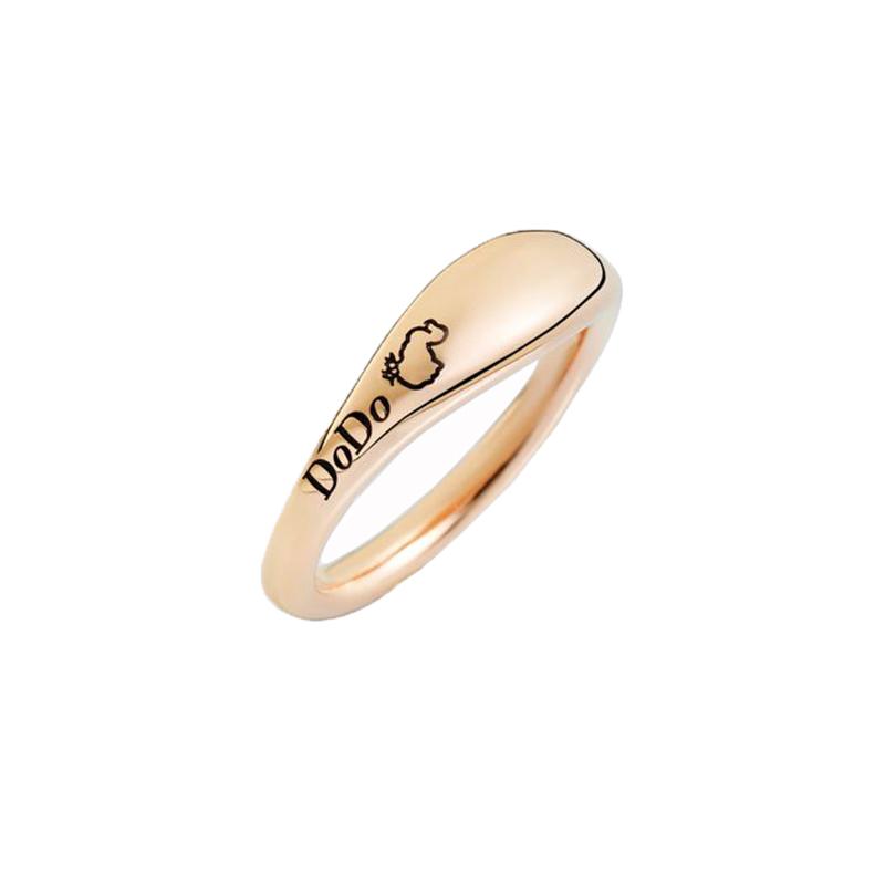 gioielliDonnaAnello Donna Dodo Promise-Ring oro rosa