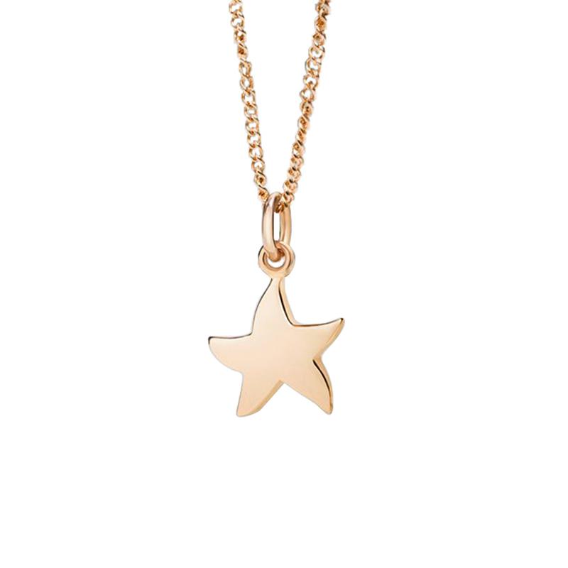 gioielliDonnaGirocollo Donna Dodo Petit stella oro rosa