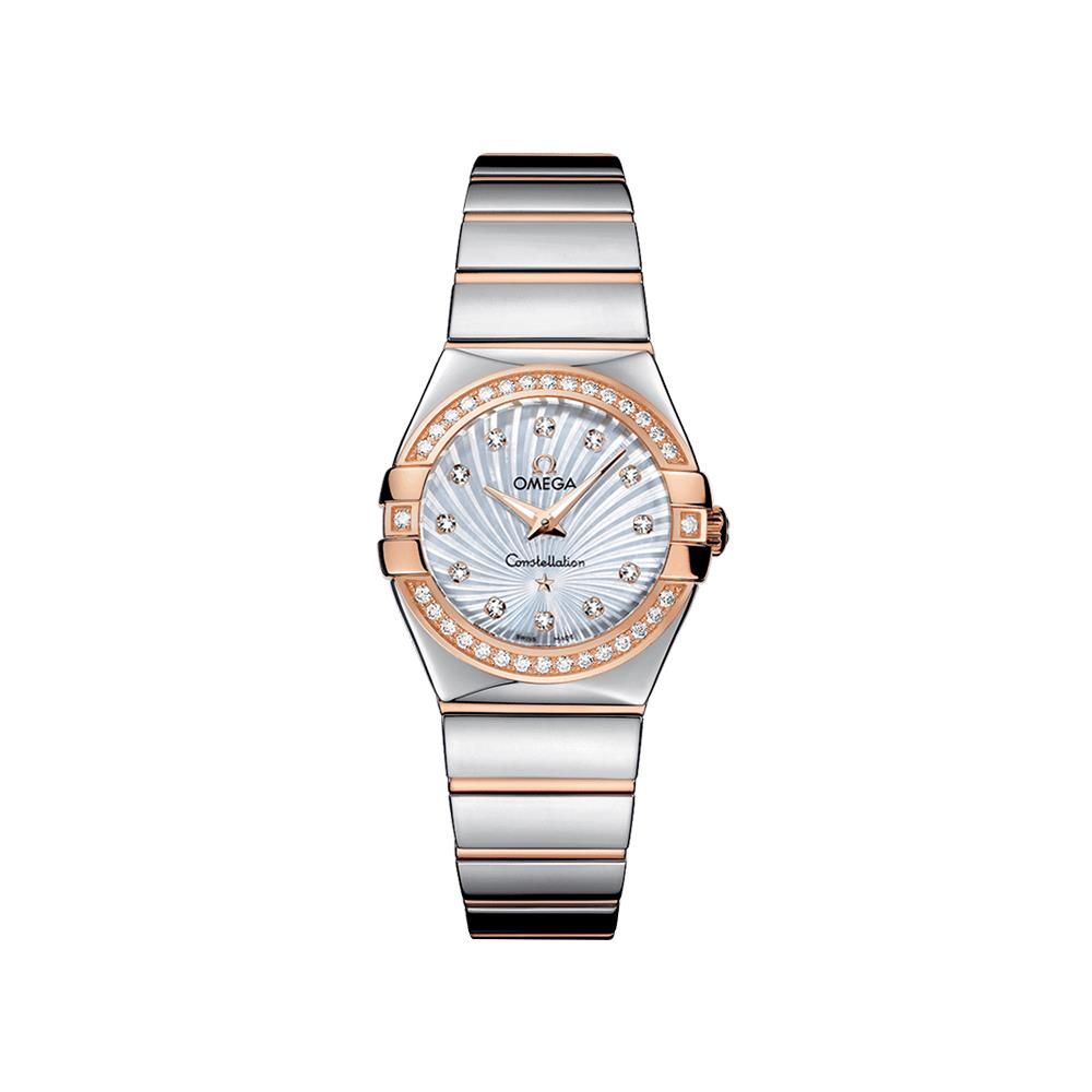 orologi Donna Omega Constellation Quartz diamante