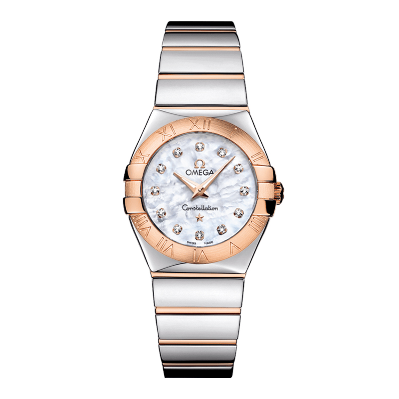orologi Donna Omega Constellation Quartz madreperla