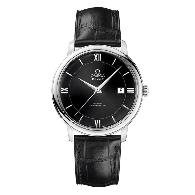 gioielli-e-orologiUomoOmega De Ville Prestige Co-axial nero