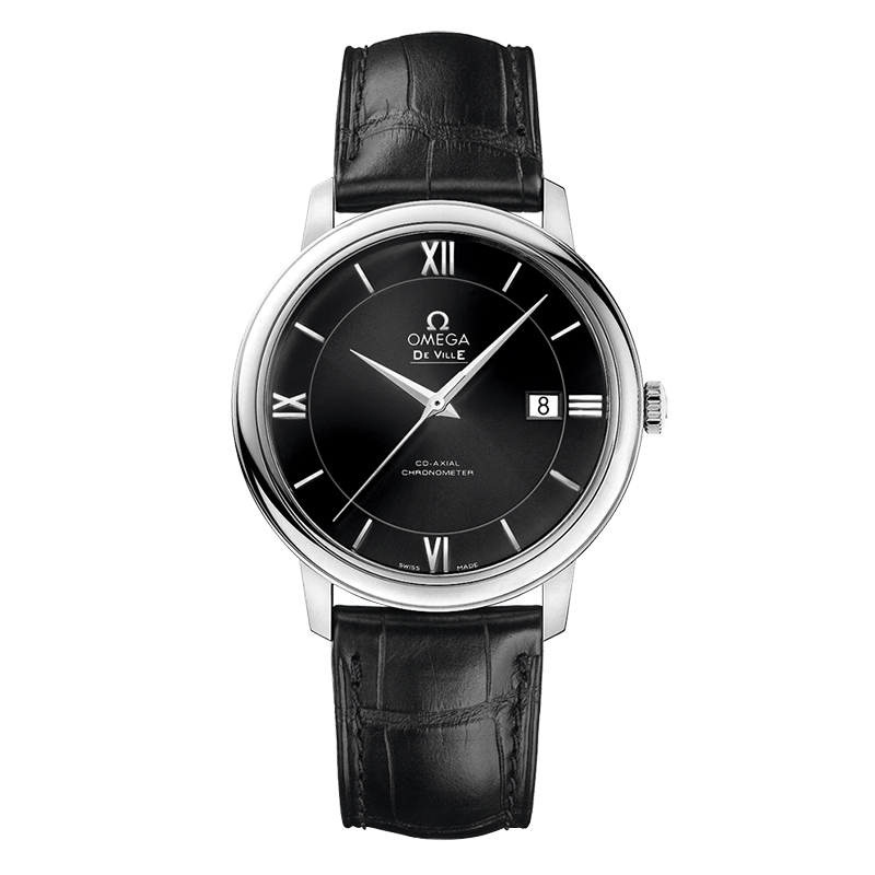 orologiUomoOmega De Ville Prestige Co-axial nero