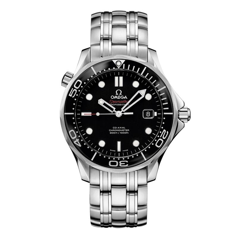 orologiUomoOmega Seamaster 300M Diver Co-Axial acciaio nero