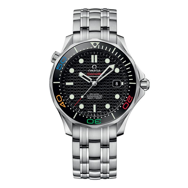 orologiUomoOmega Seamaster 300M Diver Co-Axial Collezione Olimpica
