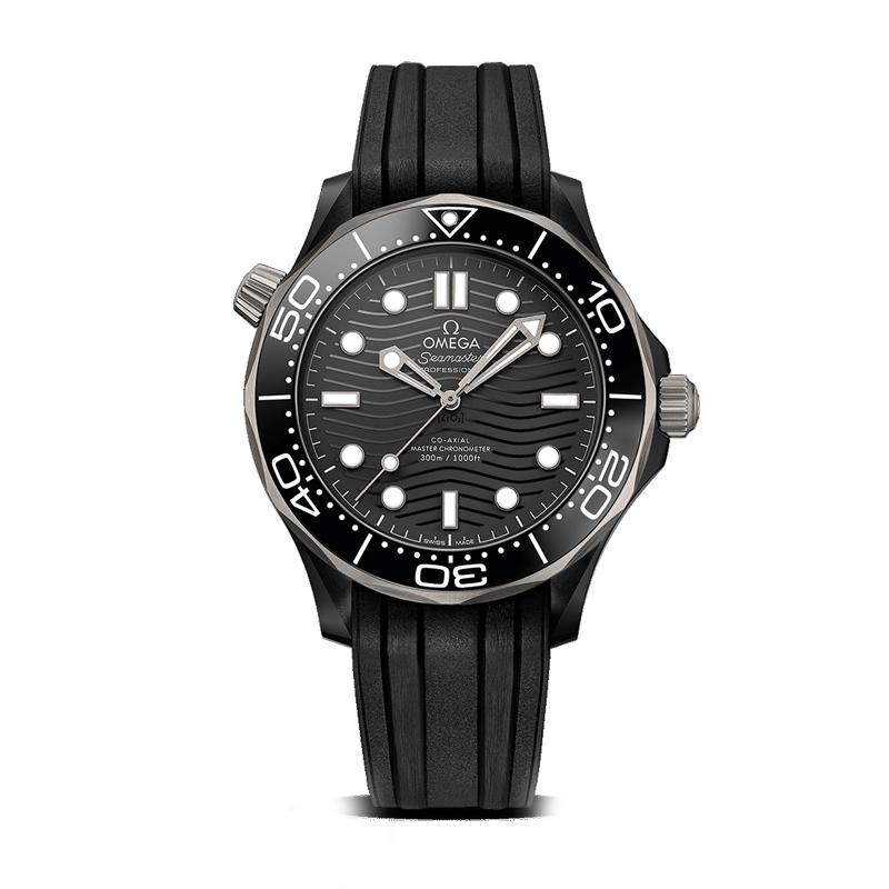 orologiUomoOmega Seamaster 300M Diver Co-Axial Master Chronometer 43,5mm ceramica e titanio