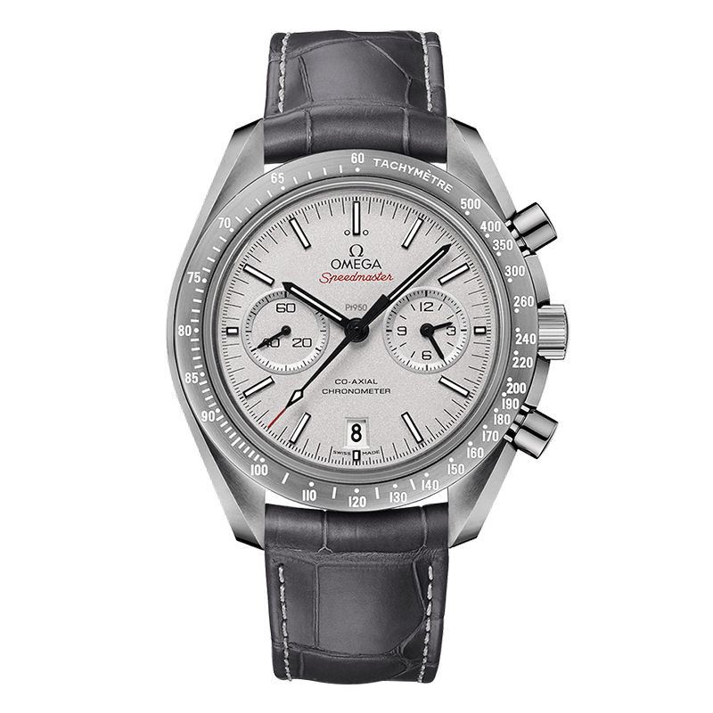 orologi Uomo Omega Speedmaster Moonwacht Co-Axial Chronograph Grey Side of the Moon