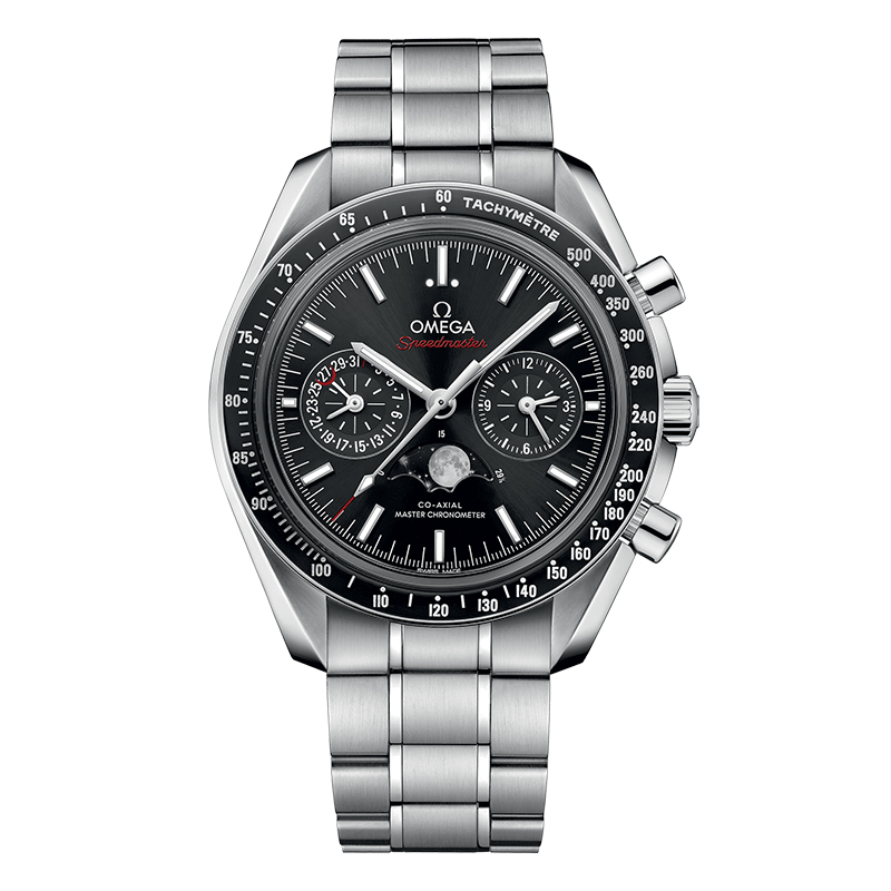 orologi Uomo Omega Speedmaster Moonwatch Co‑Axial Master Moonphase chronometer chronograph