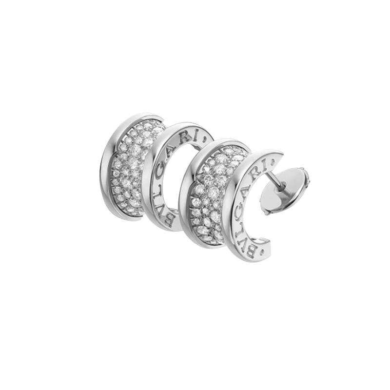 gioielliDonnaOrecchini Donna Bulgari B.zero1 oro bianco diamante