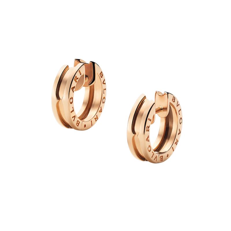 gioielliDonnaOrecchini Donna Bulgari B.zero1 oro rosa piccoli