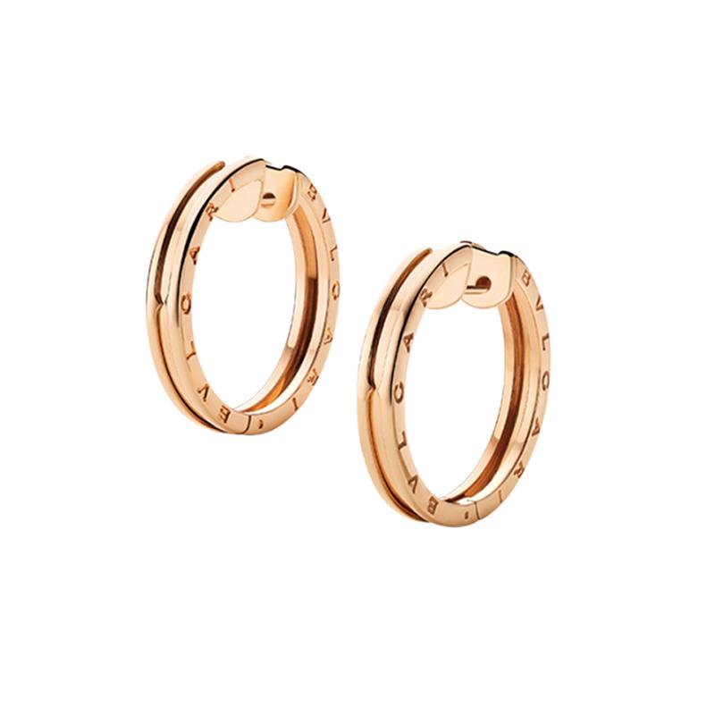 gioielliDonnaOrecchini Donna Bulgari B.zero1 oro rosa