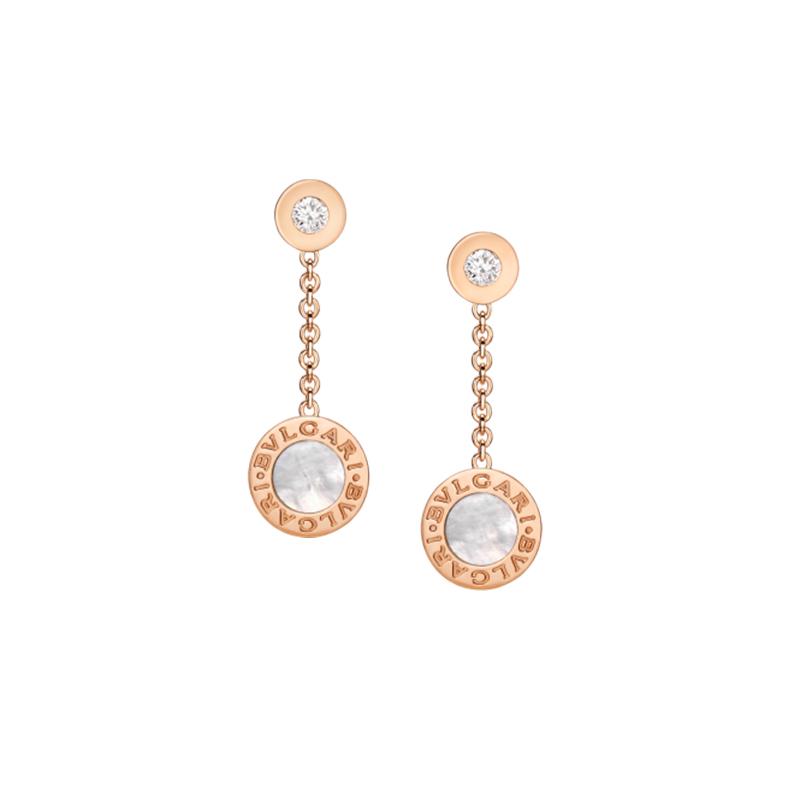 gioielliDonnaOrecchini Donna Bulgari-Bulgari madreperla diamante