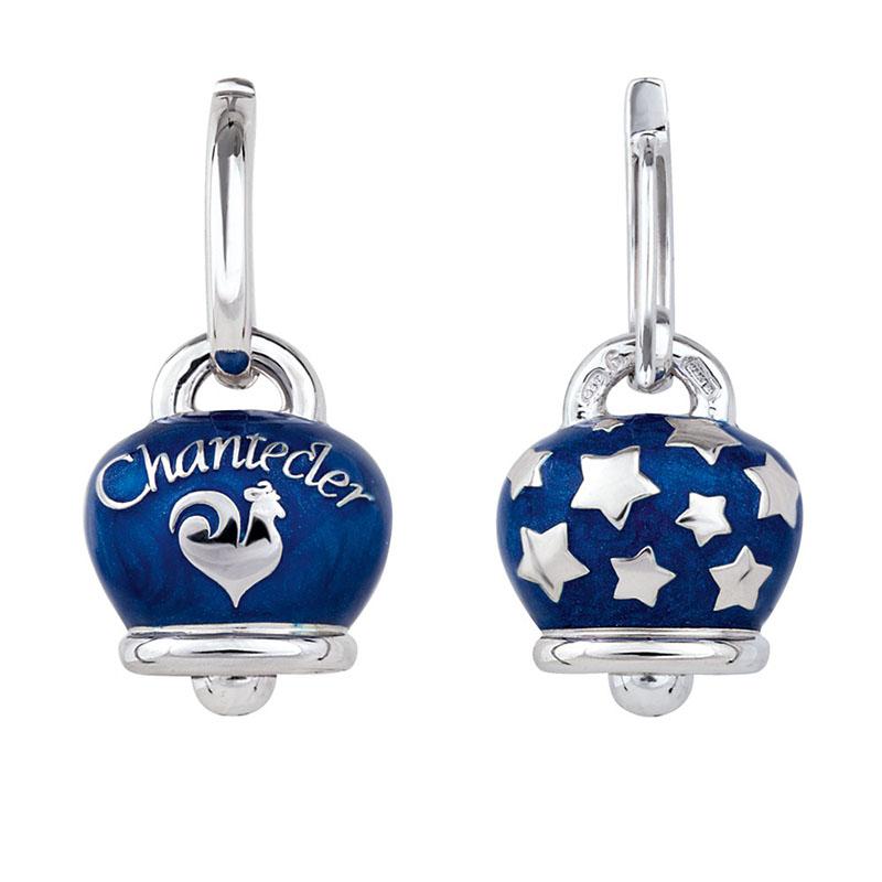 gioielliDonnaOrecchini Donna Chantecler Et Voilà Campanella argento smalto blu