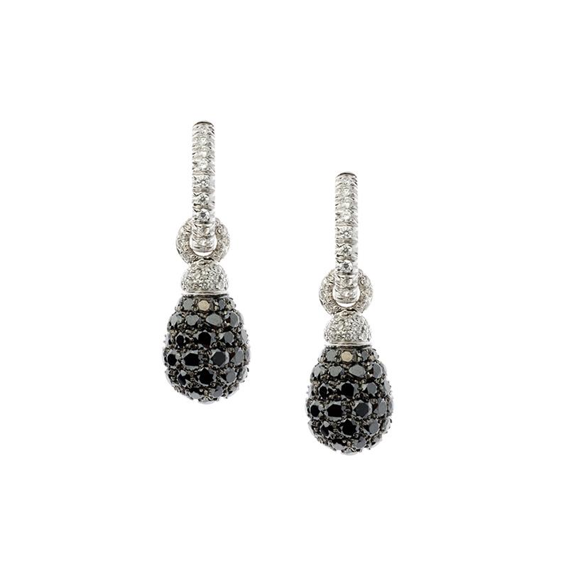 gioielliDonnaOrecchini Donna Chantecler Joyful diamante nero