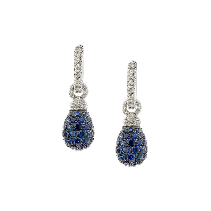 gioielliDonnaOrecchini Donna Chantecler Joyful zaffiro blu