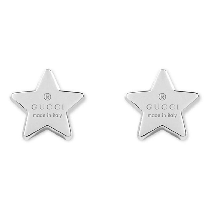 orologiDonnaOrecchini Gucci Stella argento