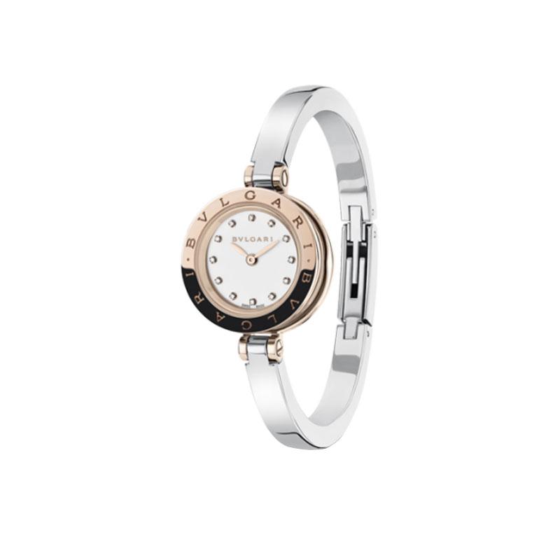 orologiDonnaOrologio Bulgari B.zero1 acciaio laccato bianco