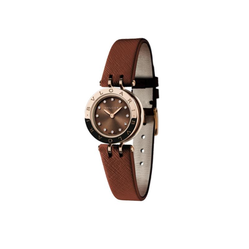 orologiDonnaOrologio Donna Bulgari B.zero1 laccato marrone