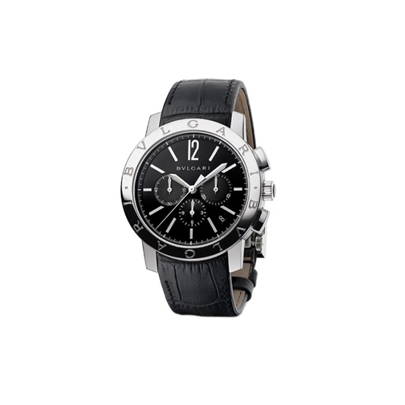 orologiUomoOrologio Bulgari-Bulgari Cronografo acciaio