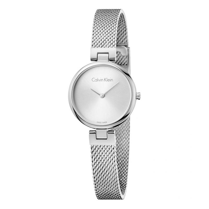 gioielli-e-orologiDonnaOrologio Calvin Klein Authentic acciaio quadrante argento