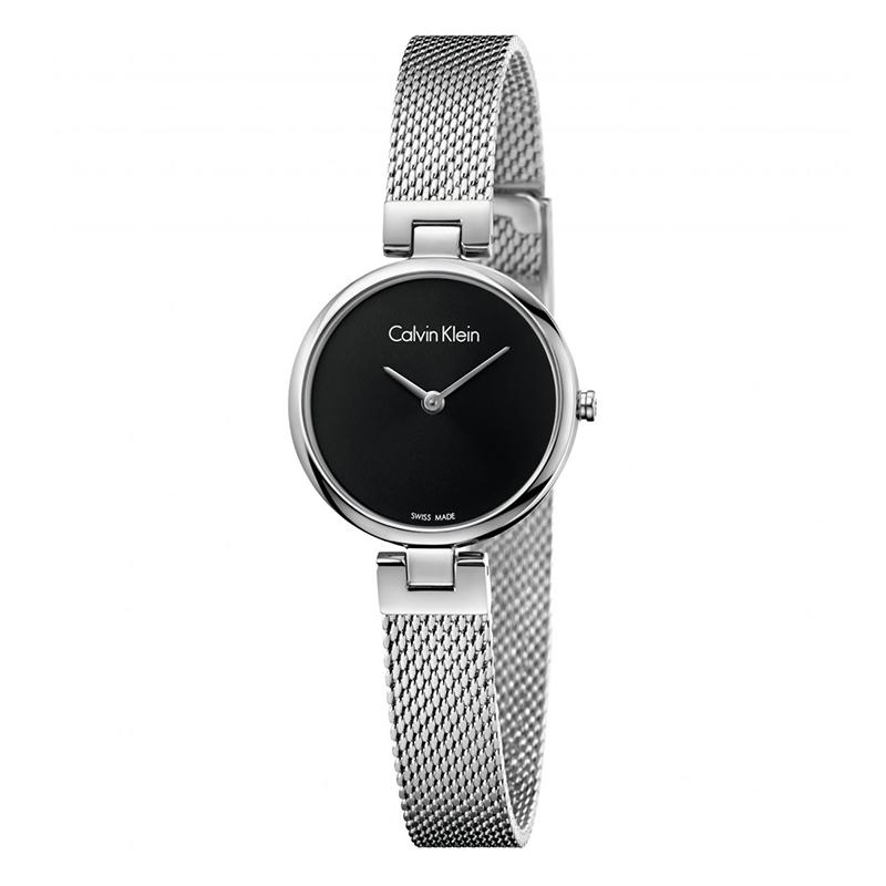 gioielli-e-orologiDonnaOrologio Calvin Klein Authentic acciaio quadrante nero