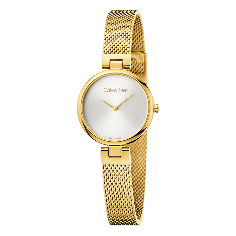 gioielli-e-orologiDonnaOrologio Calvin Klein Authentic oro giallo argento