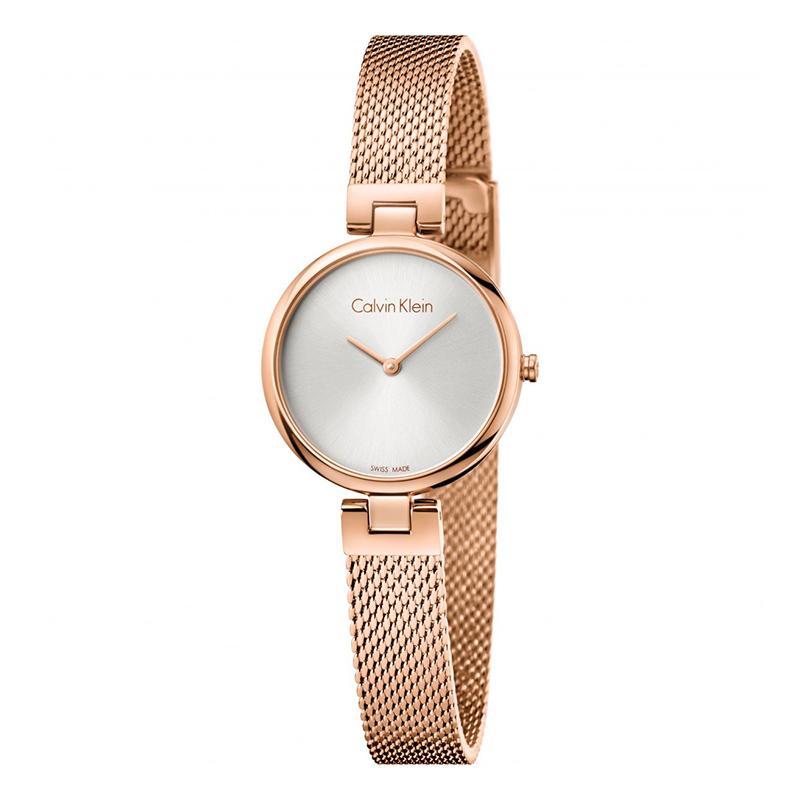 gioielli-e-orologiDonnaOrologio Calvin Klein Authentic oro rosa argento