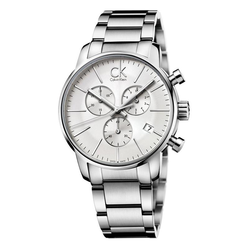 gioielli-e-orologiUomoOrologio Calvin Klein City argento cronografo