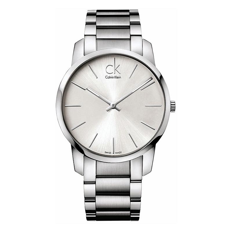 gioielli-e-orologiUomoOrologio Calvin Klein City argento