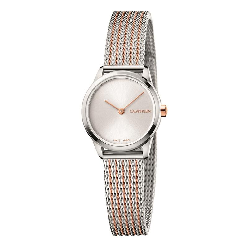 gioielli-e-orologiDonnaOrologio Calvin Klein Minimal acciaio bicolore