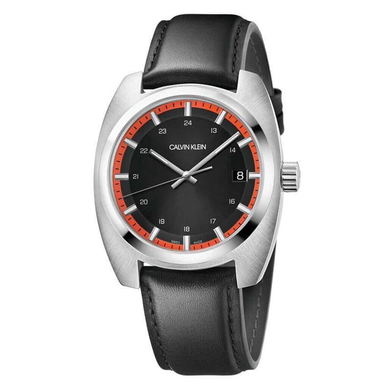 gioielli-e-orologiUomoOrologio Calvin Klein Minimal Achieve nero