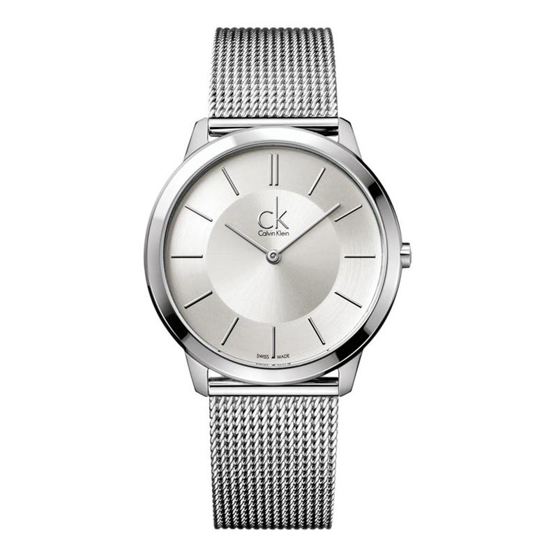 gioielli-e-orologiUomoOrologio Calvin Klein Minimal grande argento