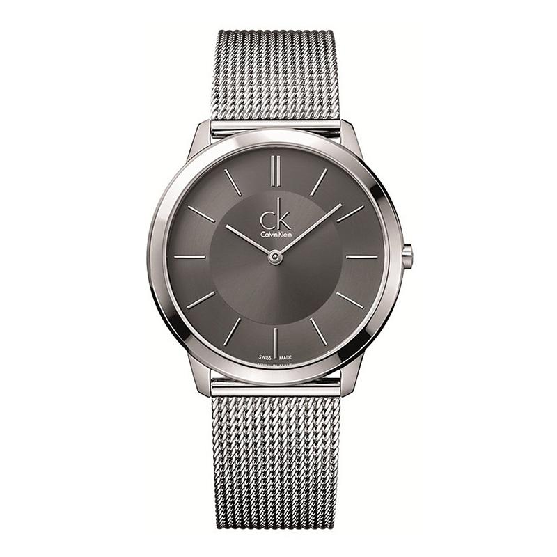 gioielli-e-orologiUomoOrologio Calvin Klein Minimal grande grigio scuro