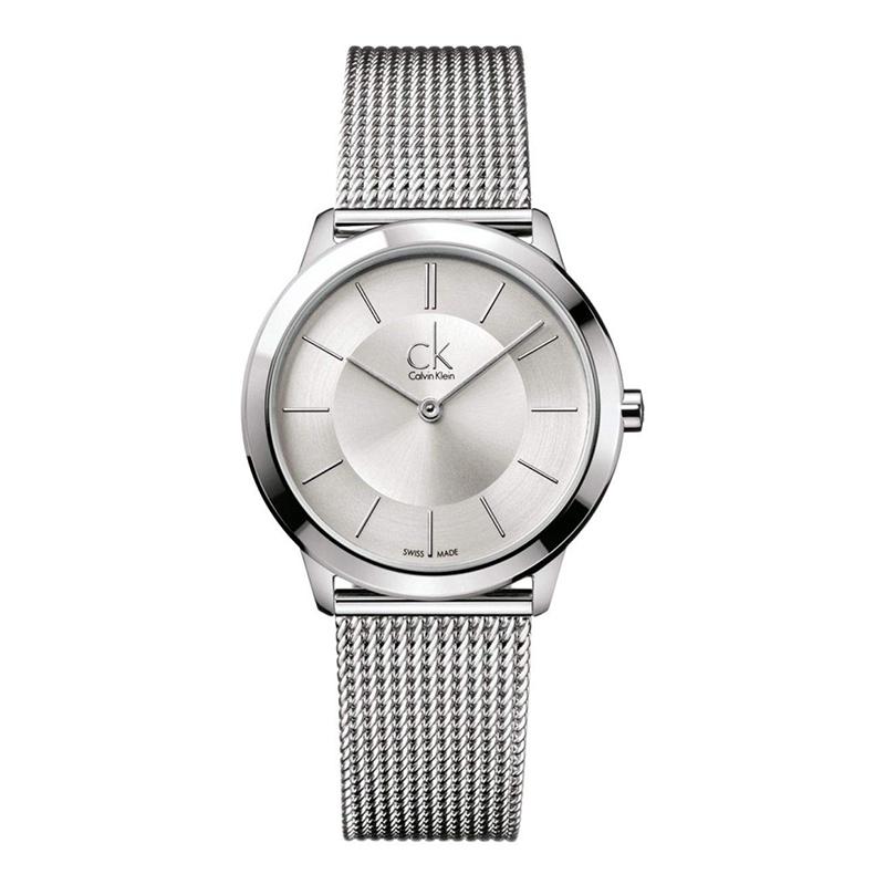 gioielli-e-orologiUomoOrologio Calvin Klein Minimal medio argento