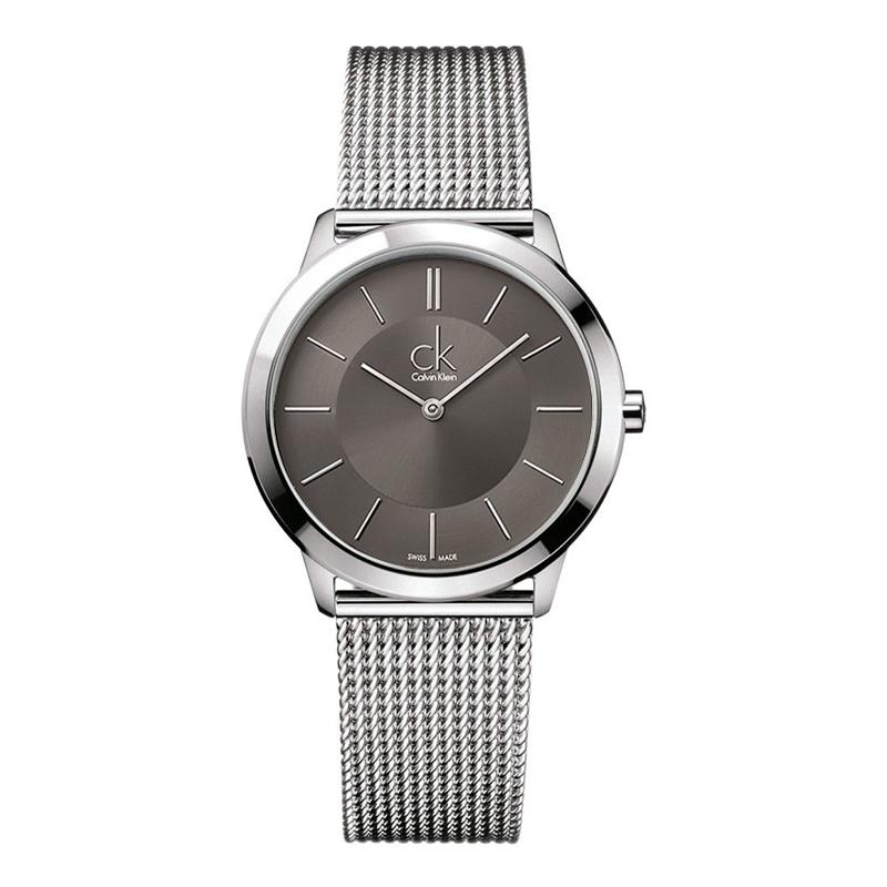 gioielli-e-orologiUomoOrologio Calvin Klein Minimal medio grigio scuro