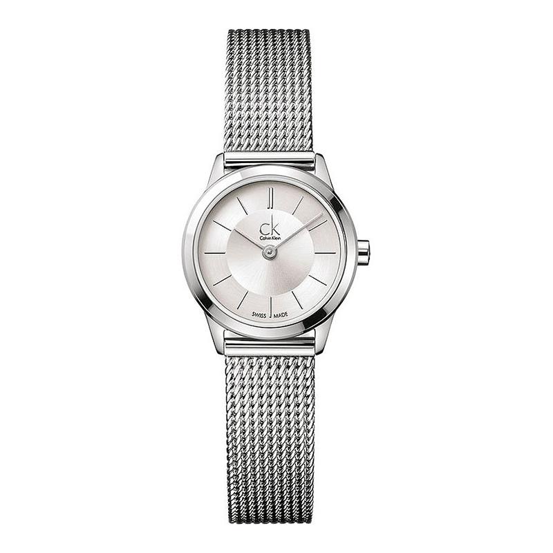 gioielli-e-orologiDonnaOrologio Calvin Klein Minimal piccolo argento