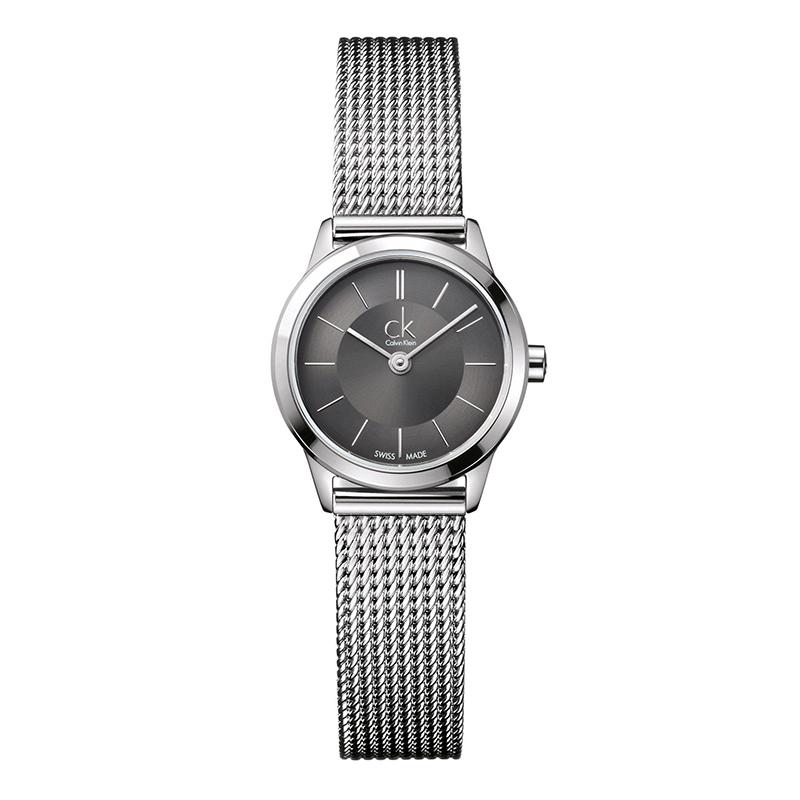 gioielli-e-orologiDonnaOrologio Calvin Klein Minimal piccolo grigio scuro