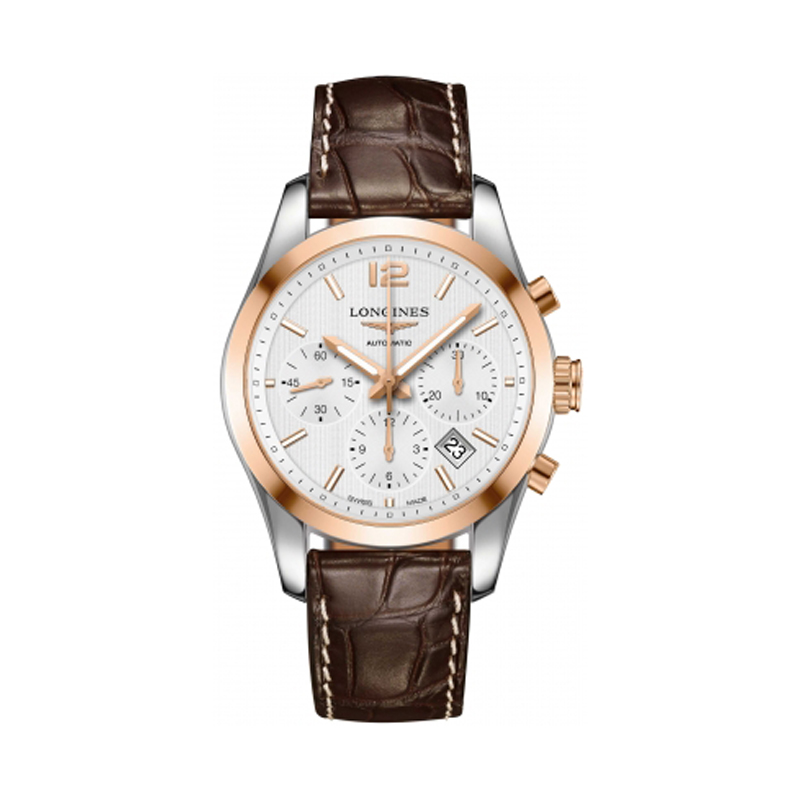 gioielli-e-orologi Uomo Orologio Conquest Classic Automatic Chronograph 41mm Mens Watch