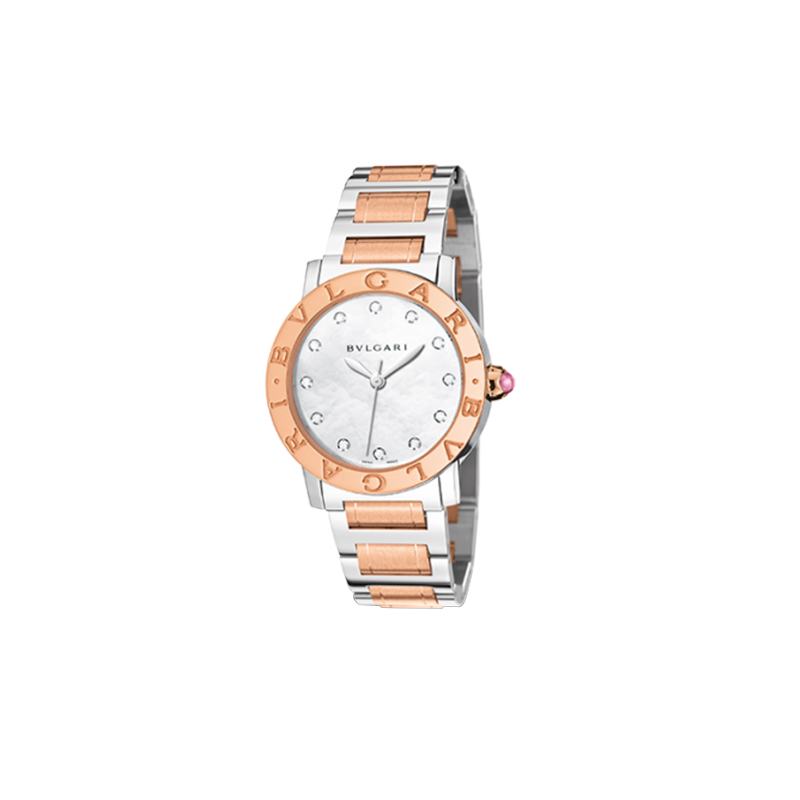 orologiDonnaOrologio Donna Bulgari-Bulgari oro rosa acciaio
