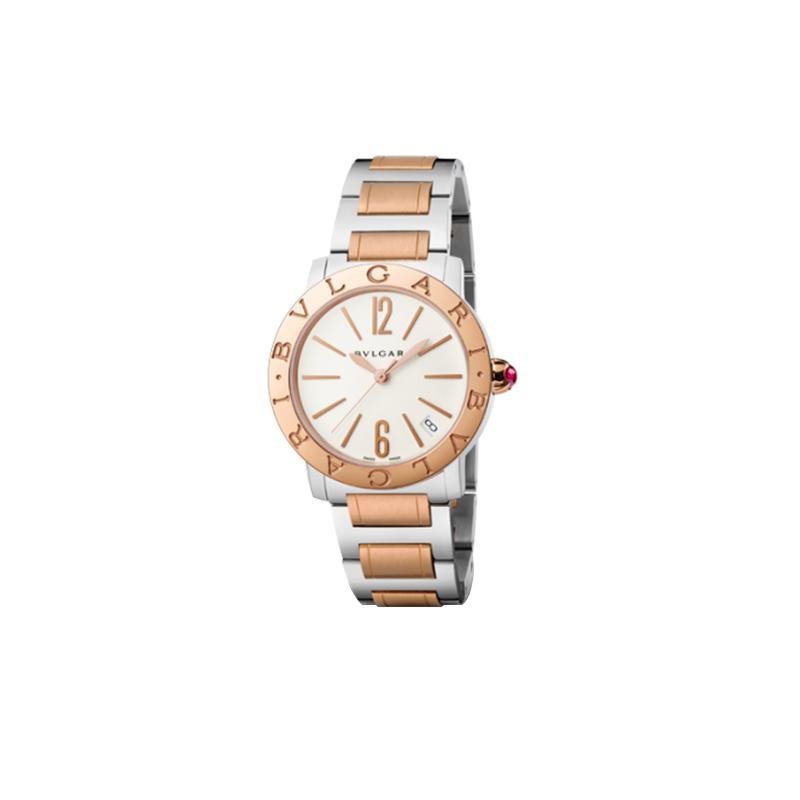 Orologio Donna Bulgari-Bulgari oro rosa e acciaio