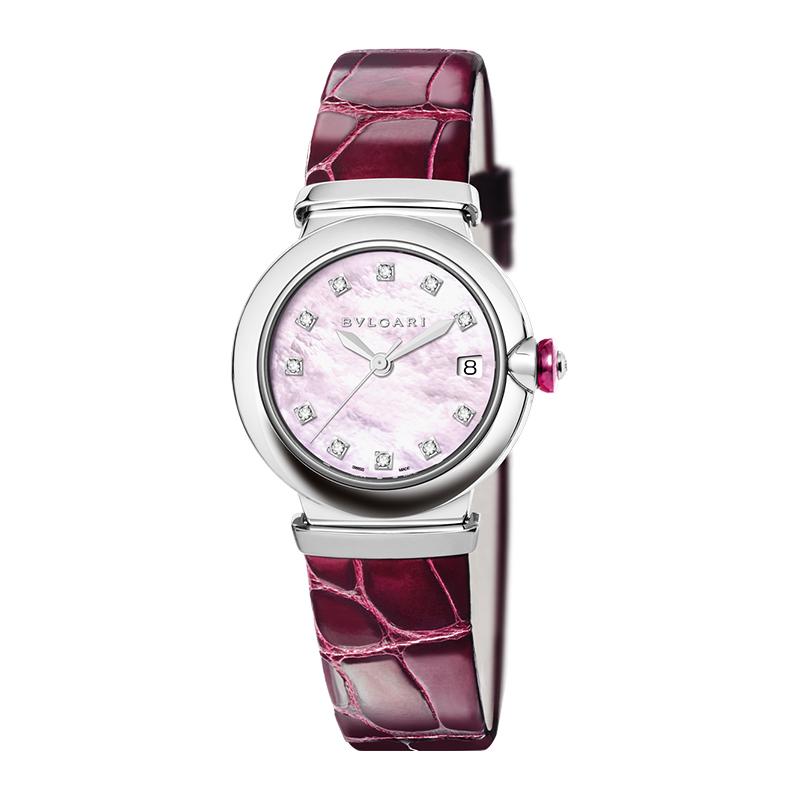 Orologio Donna Bulgari Lvcea madreperla rosa