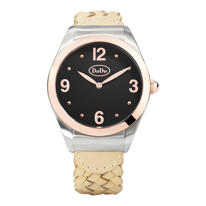 orologi Donna Orologio Donna Dodo Black and Rose