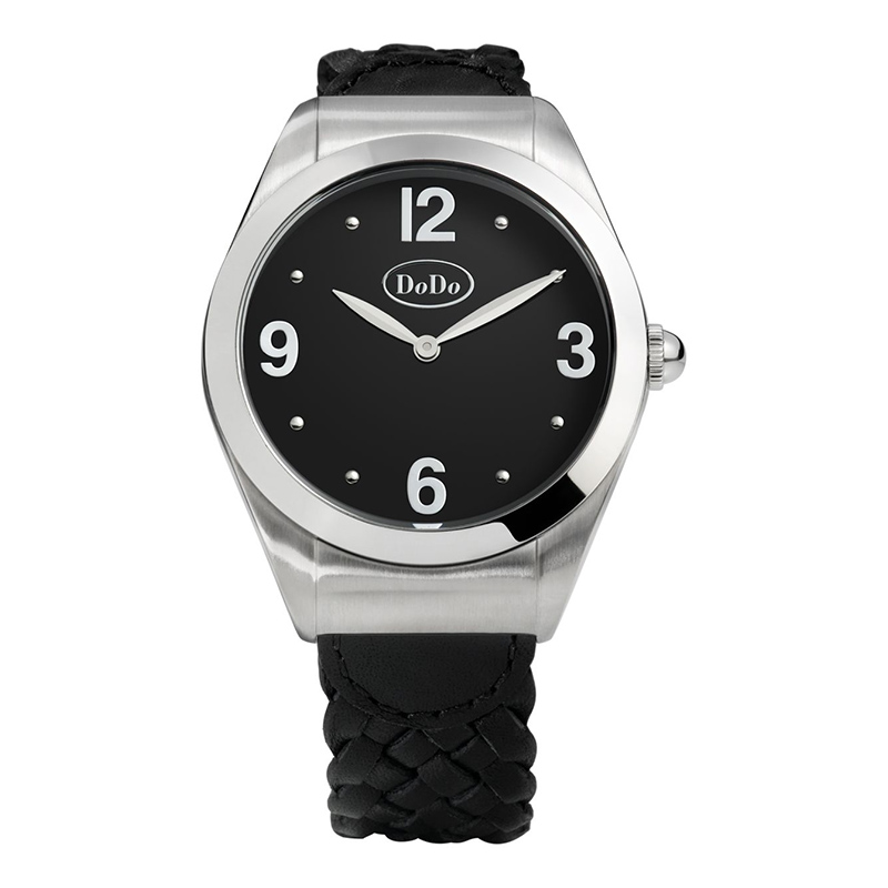orologi Donna Orologio Donna Dodo Black and Steel
