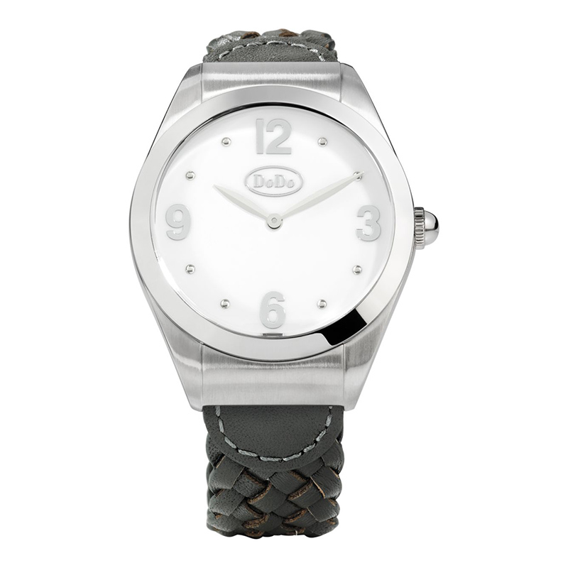 orologi Donna Orologio Donna Dodo White and Steel