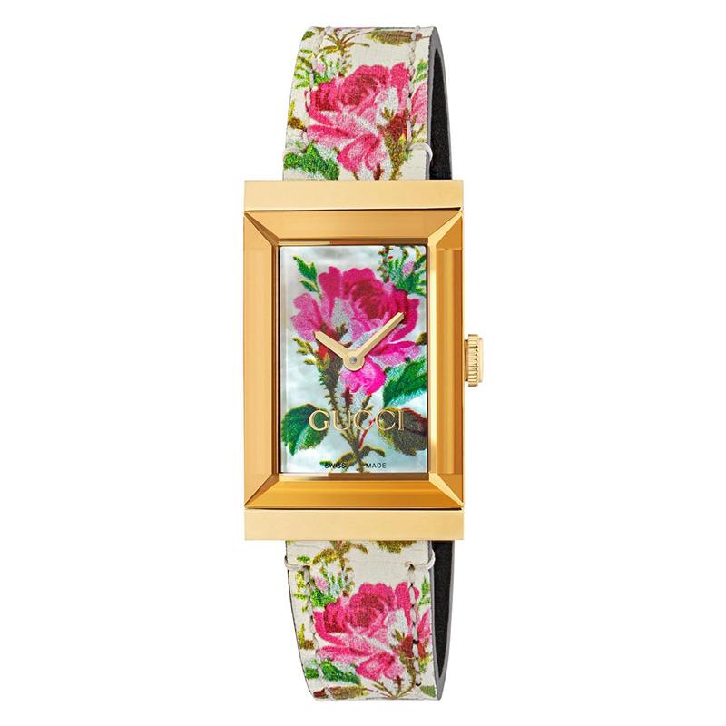 orologiDonnaOrologio Donna Gucci G-Frame rosa