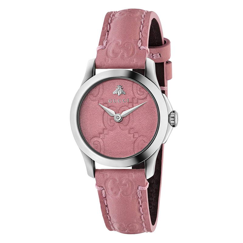 orologi Donna Orologio Donna Gucci G-Timeless pelle rosa