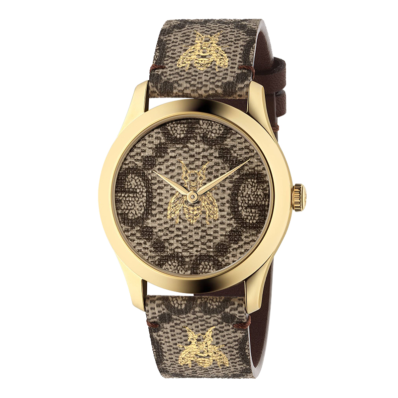 orologi Donna Orologio Donna Gucci G-Timeless PVD tela GG