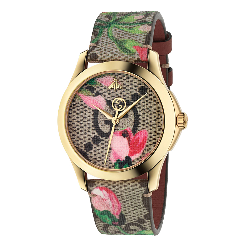 orologi Donna Orologio Donna Gucci G-Timeless rosa Blooms