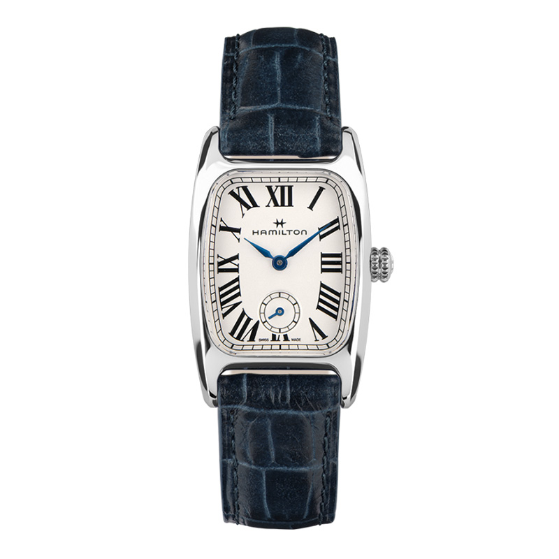 gioielli-e-orologiUomoOrologio  Hamilton American Boulton cinturino blu