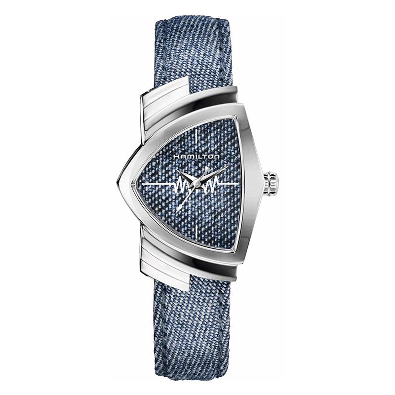 gioielli-e-orologiUomoOrologio Hamilton Ventura blu jeans